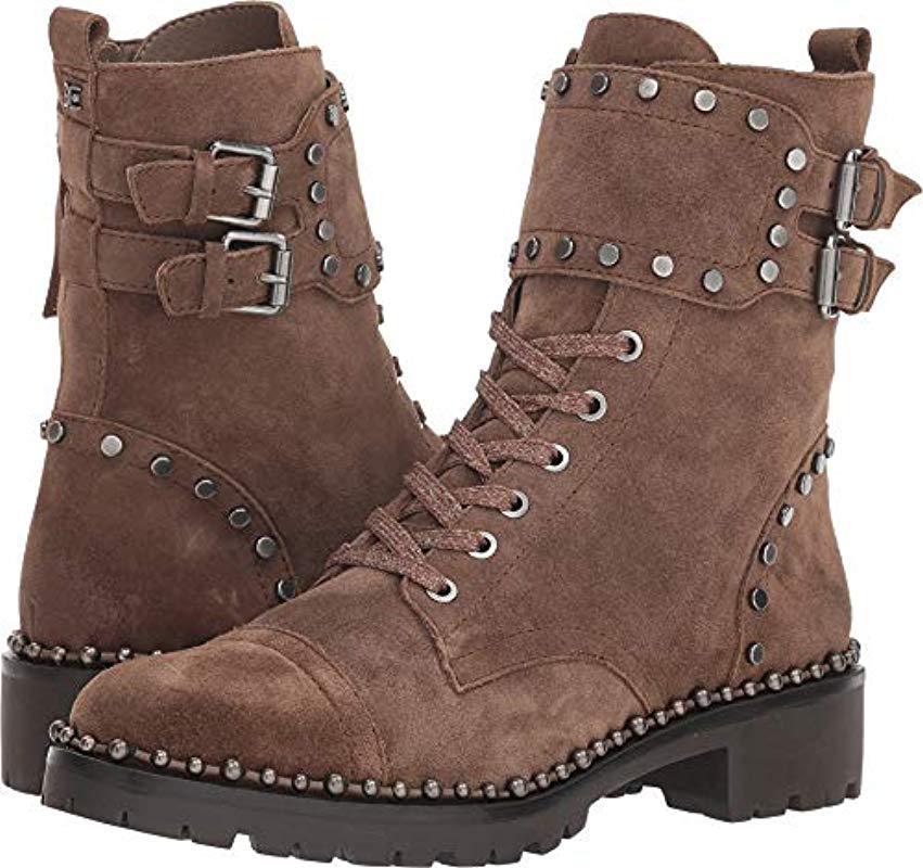 ca4a5dea0670b Lyst - Sam Edelman Jennifer Combat Boot in Brown - Save 1%