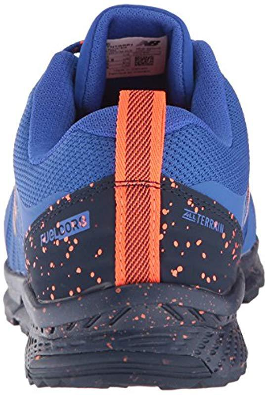 Lyst New Balance Nitrel Trail Running Shoes Pacific Blue In Blue