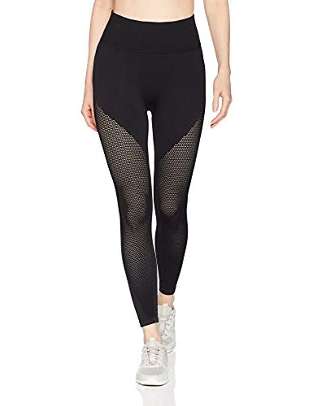 035fa6a5311a2 Lyst - Betsey Johnson Seamless Crop Leggings in Black