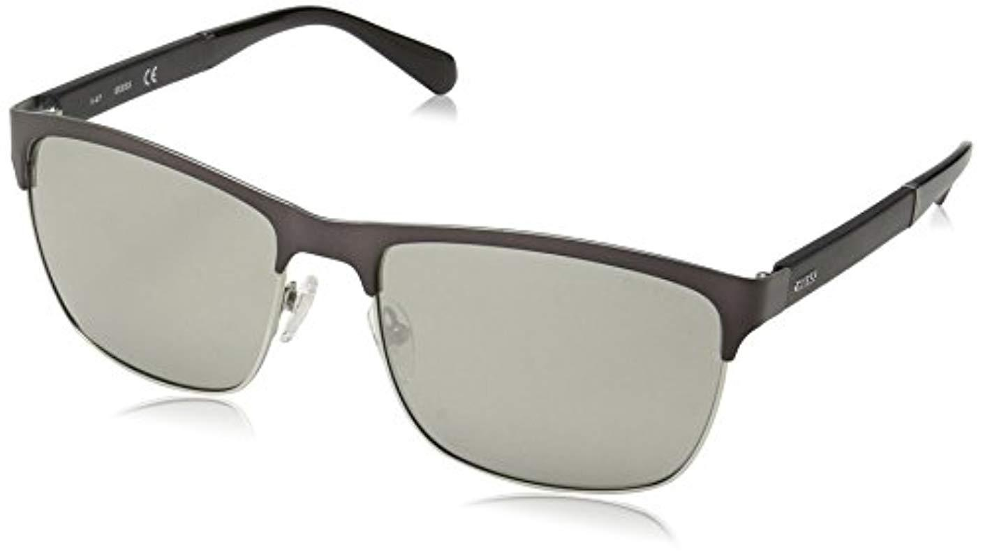 0b516380b324 Guess Vincent Clubmaster Sunglasses for Men - Save 50% - Lyst