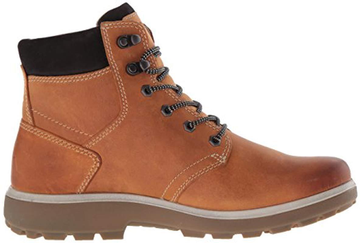 Ecco Leather Gora Gtx Hiking Boot in