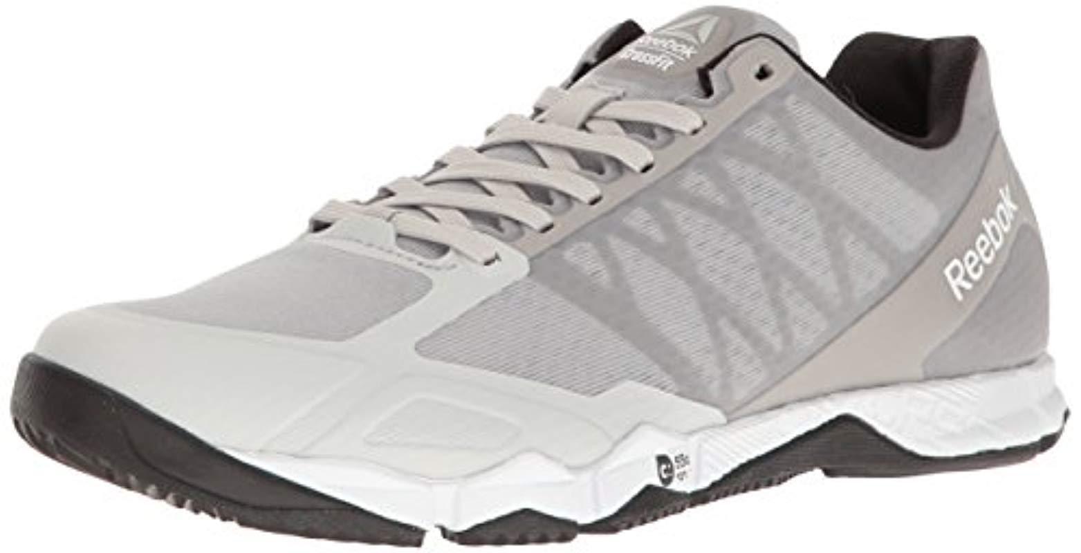 Reebok - Metallic Crossfit Speed Tr Cross-trainer Shoe - Lyst. View  fullscreen fb7d5b6c7