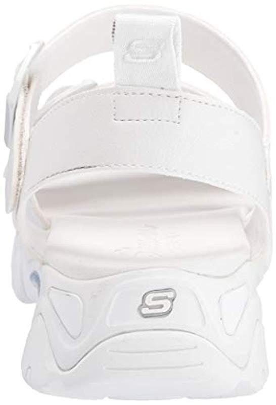 8a21147e7eb Skechers - White D lites 2.0-cool Cosmos-triple Band Sling Back Sport. View  fullscreen