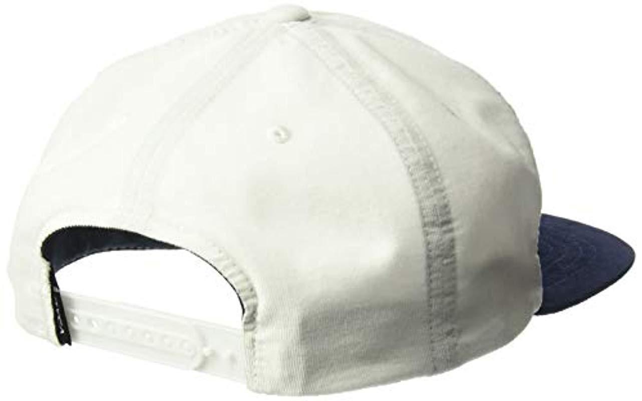 971faedb7dabcd RVCA - Multicolor Everett Snapback Hat for Men - Lyst. View fullscreen