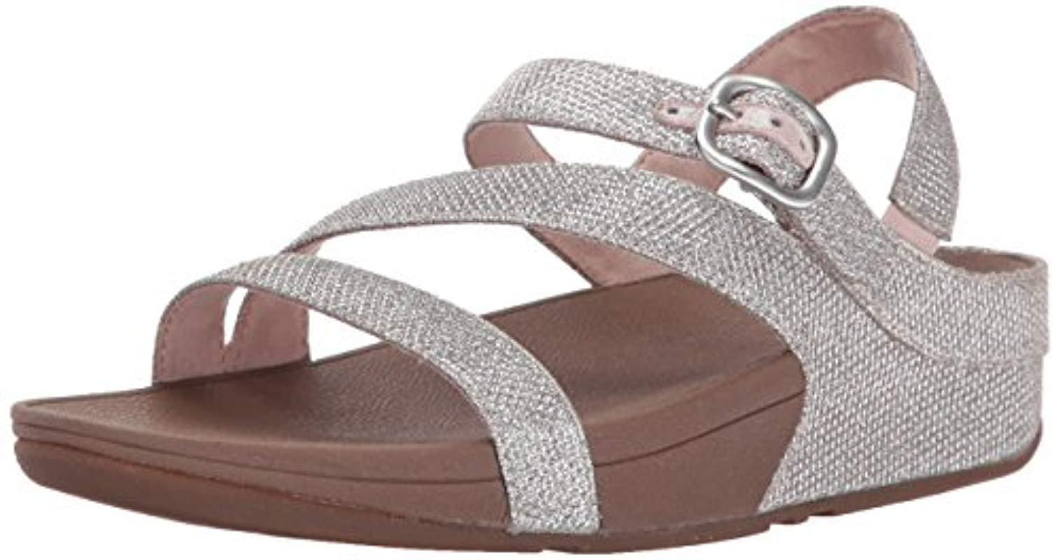 ea7e5232c75c6f Lyst - Fitflop The Skinny Sparkle Z-strap Sandal Flip Flop