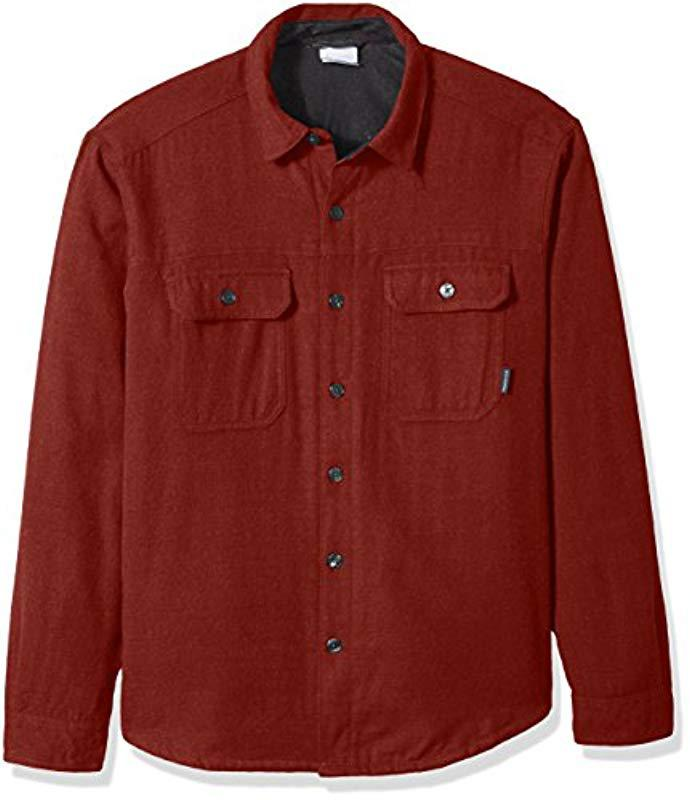 acfa15a252 Columbia Pullover Sweater in Red for Men - Save 51% - Lyst