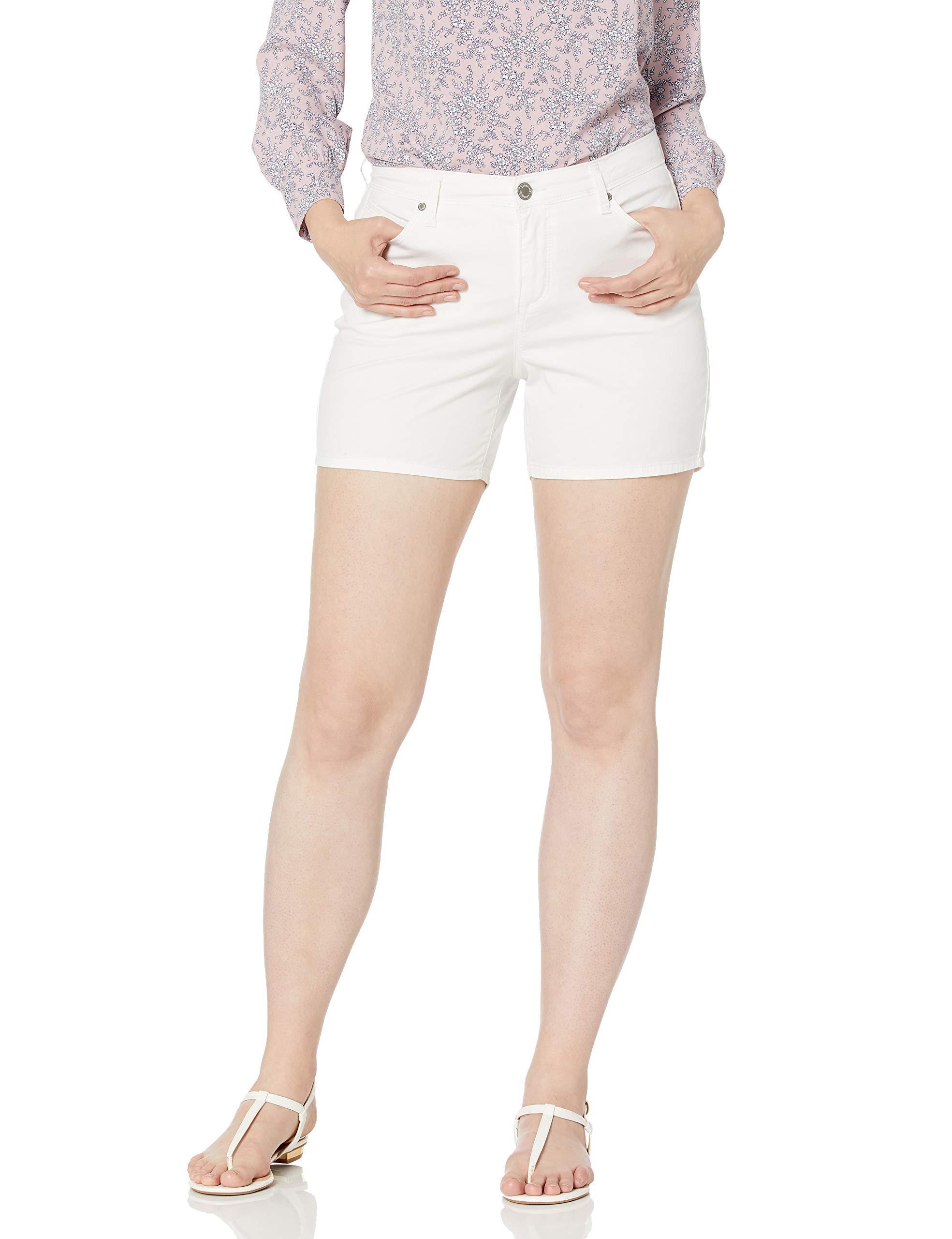 Bandolino Womens Lisbeth Curvy Skinny Short Shorts