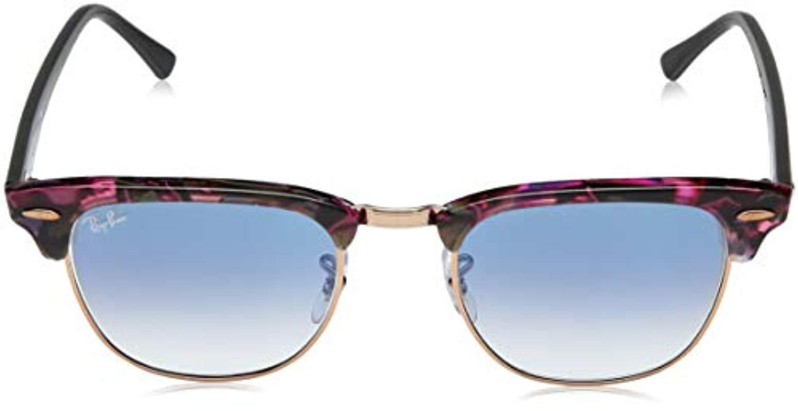 19c304babca80 Lyst - Ray-Ban Clubmaster Square Sunglasses