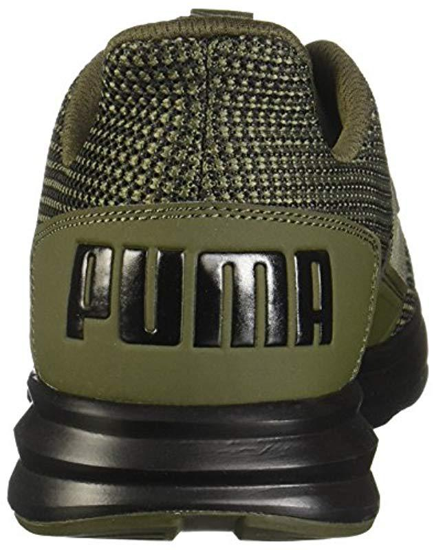 0cf0fc99c87 Lyst - PUMA Enzo Street Knit Sneaker in Green for Men