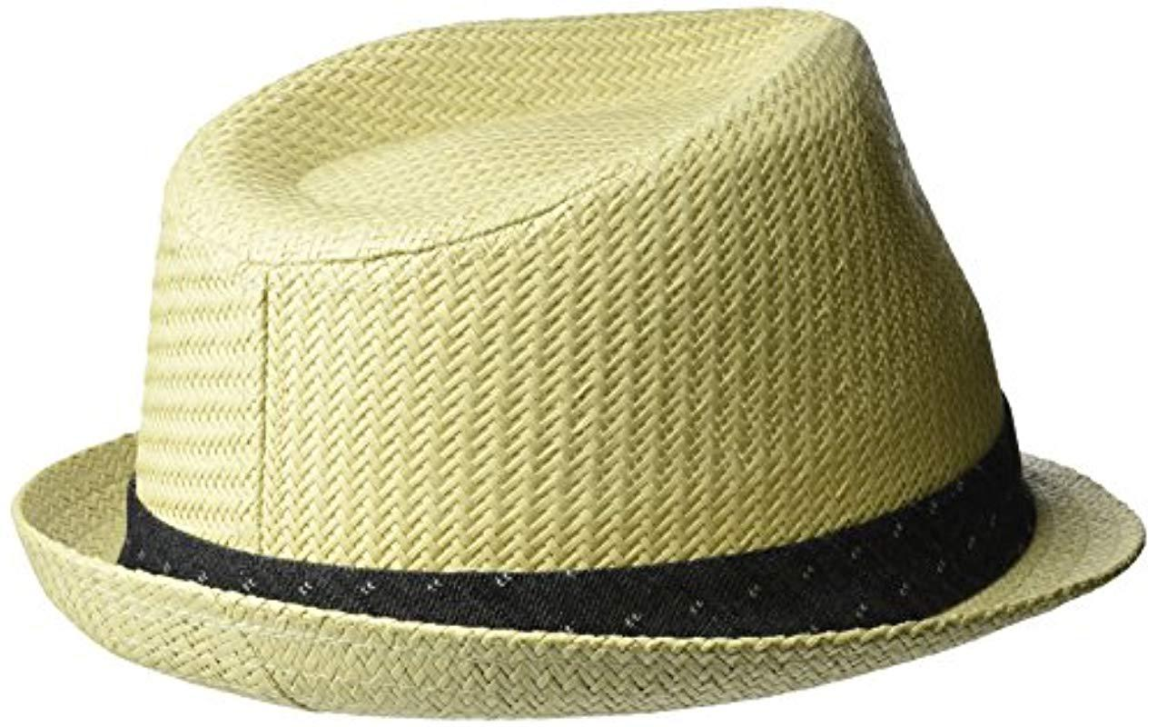 bcd58cc28bb Lyst levis classic straw fedora hat in white for men save jpg 1274x800 Levis  fedora hat