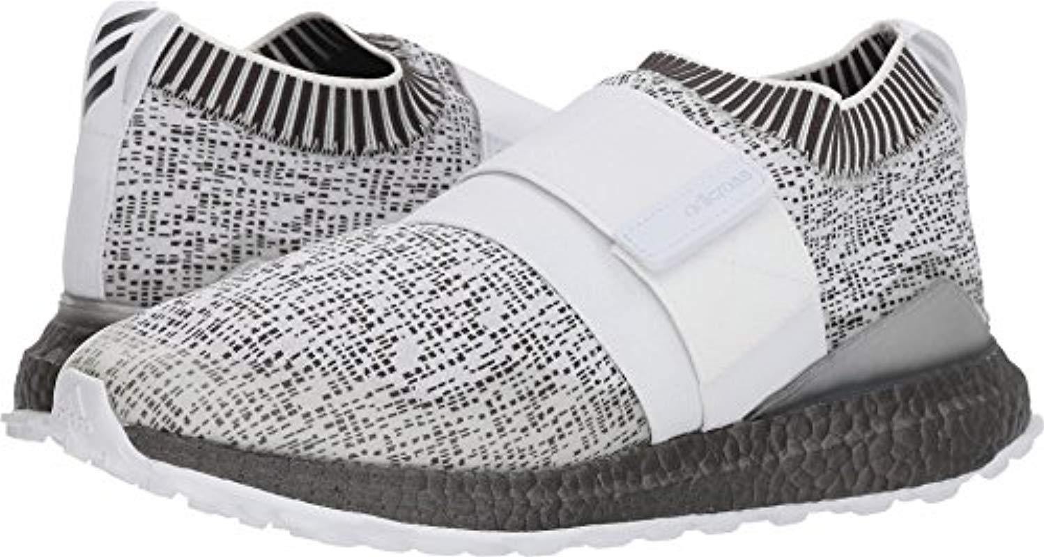 huge selection of dc8a2 4d4fe adidas. Mens White Crossknit 2.0 Golf Shoe,