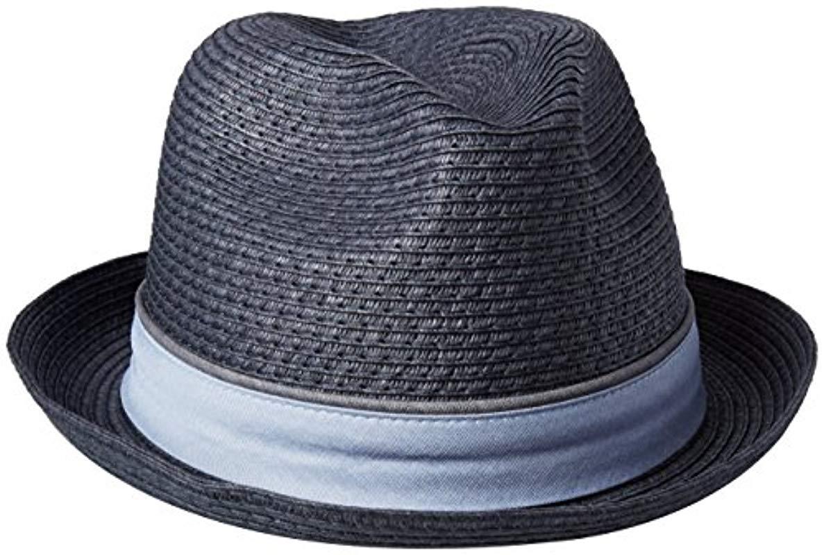 df7b25e7d88 Lyst - Original Penguin Straw Porkpie Hat in Blue for Men