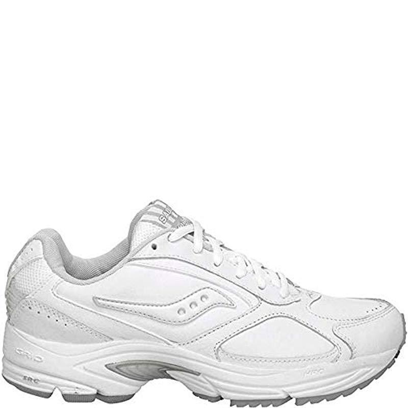 Lyst Saucony Grid Omni Walker Sneaker in White
