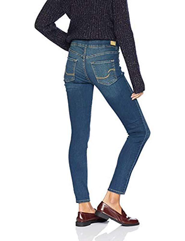 4e8e24e2883d1 Lyst - Signature by Levi Strauss   Co. Gold Label Totally Shaping Pull-on  Skinny Jean in Blue - Save 24%