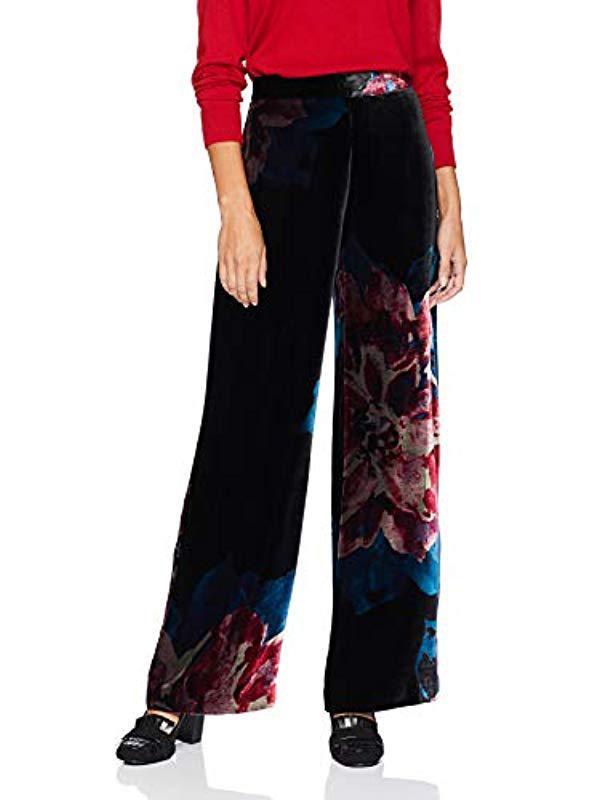c3a89769f7 Lyst - Trina Turk Penelope Wide Leg Pant in Black
