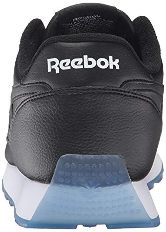 5765bc33727 Reebok - Black Classic Renaissance Ice Fashion Sneaker for Men - Lyst. View  fullscreen
