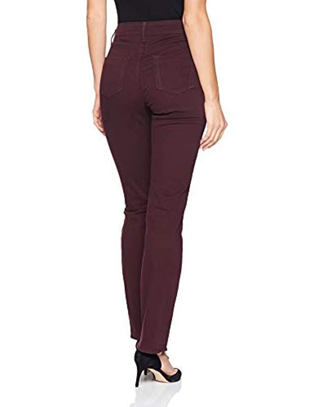 db48a7ff00988 Lyst - Lee Jeans Secretly Shapes Regular Fit Straight Leg Jean in Purple