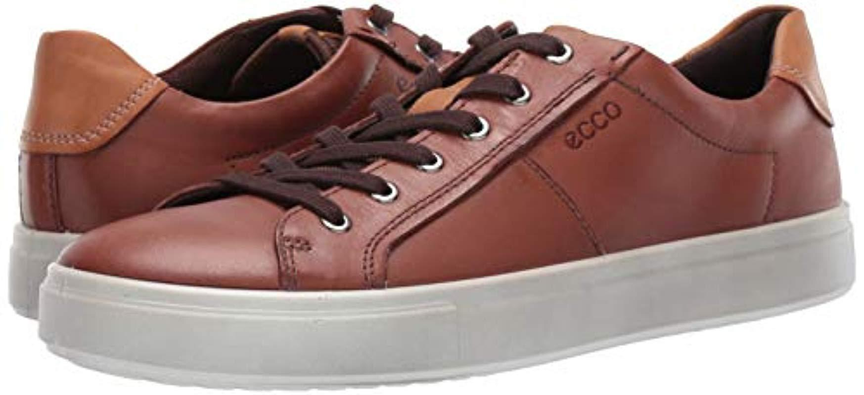 Ecco Leather Kyle Classic Sneaker for