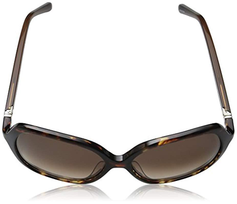 1479c74d5276 Kate Spade Kate Spade Jonell Square Sunglasses in Brown - Lyst