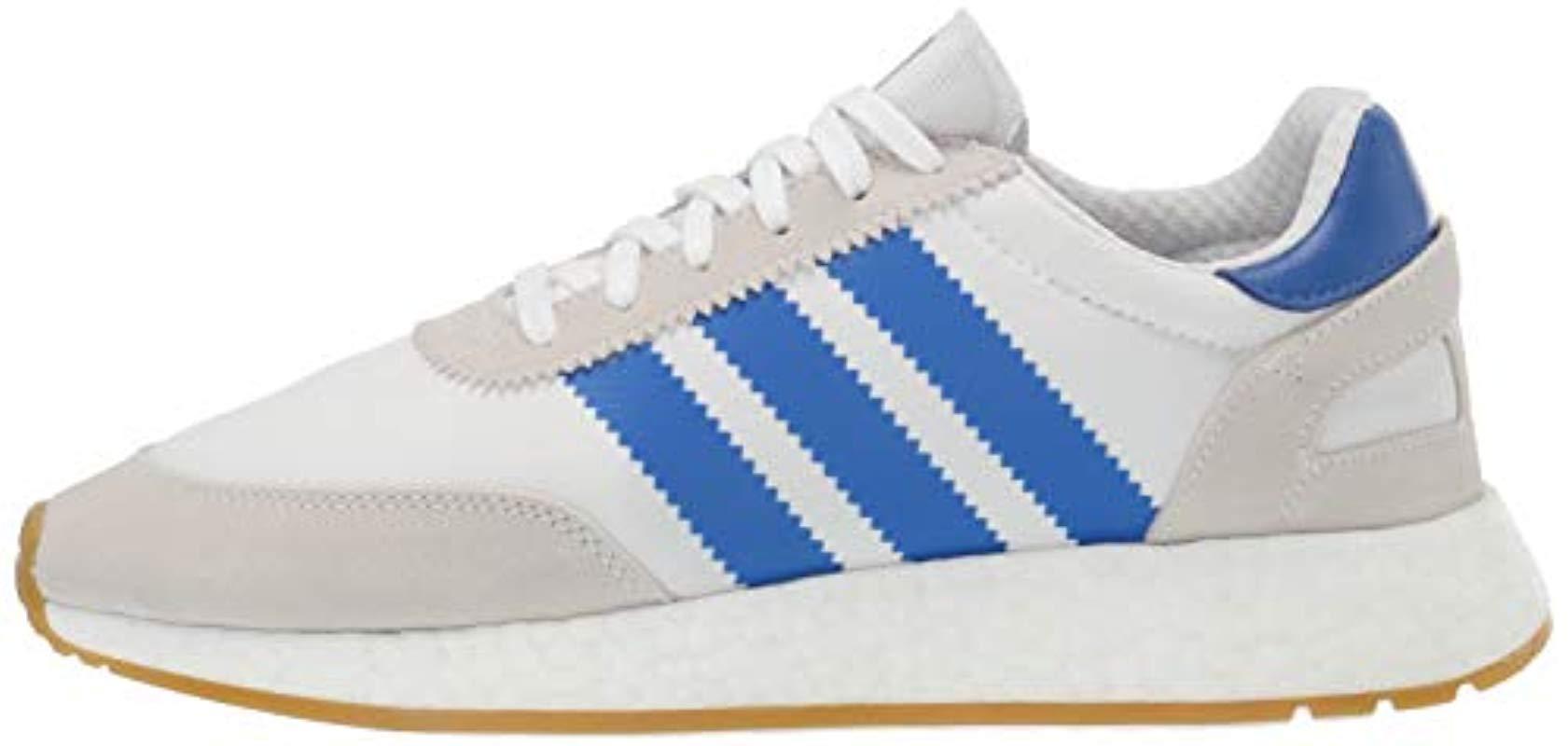 I-5923 Shoe, White/blue/gum, 9.5