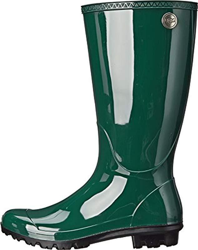 095eccaab45 Lyst - UGG Shaye Rain Boot in Green - Save 46%