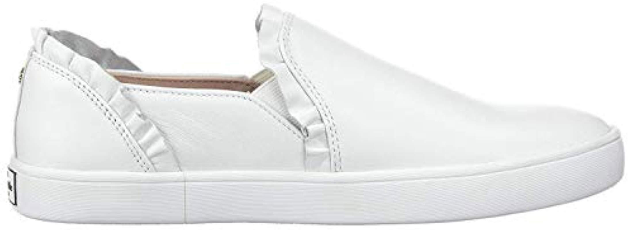 kate spade white lilly sneakers
