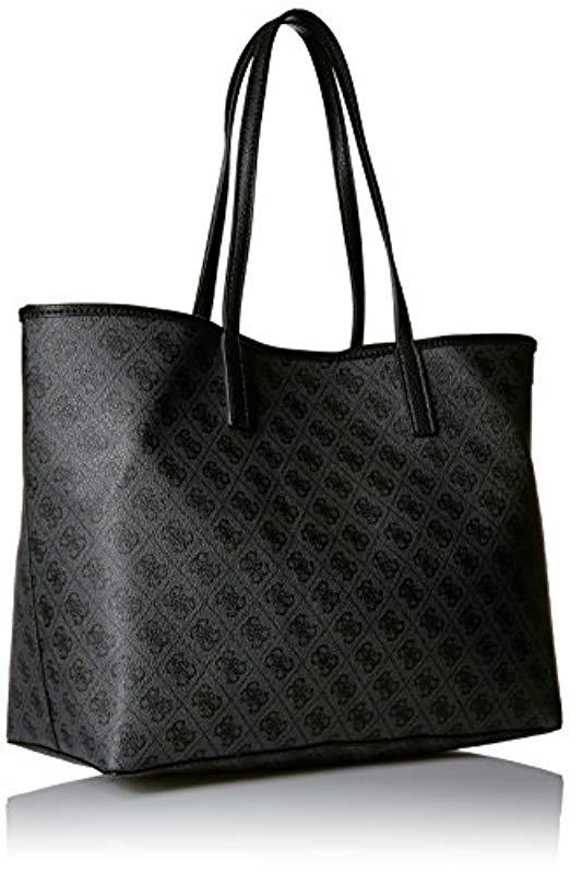 ac44cec6b4 Guess - Gray Vikky Classic Logo Large Tote - Lyst. View fullscreen