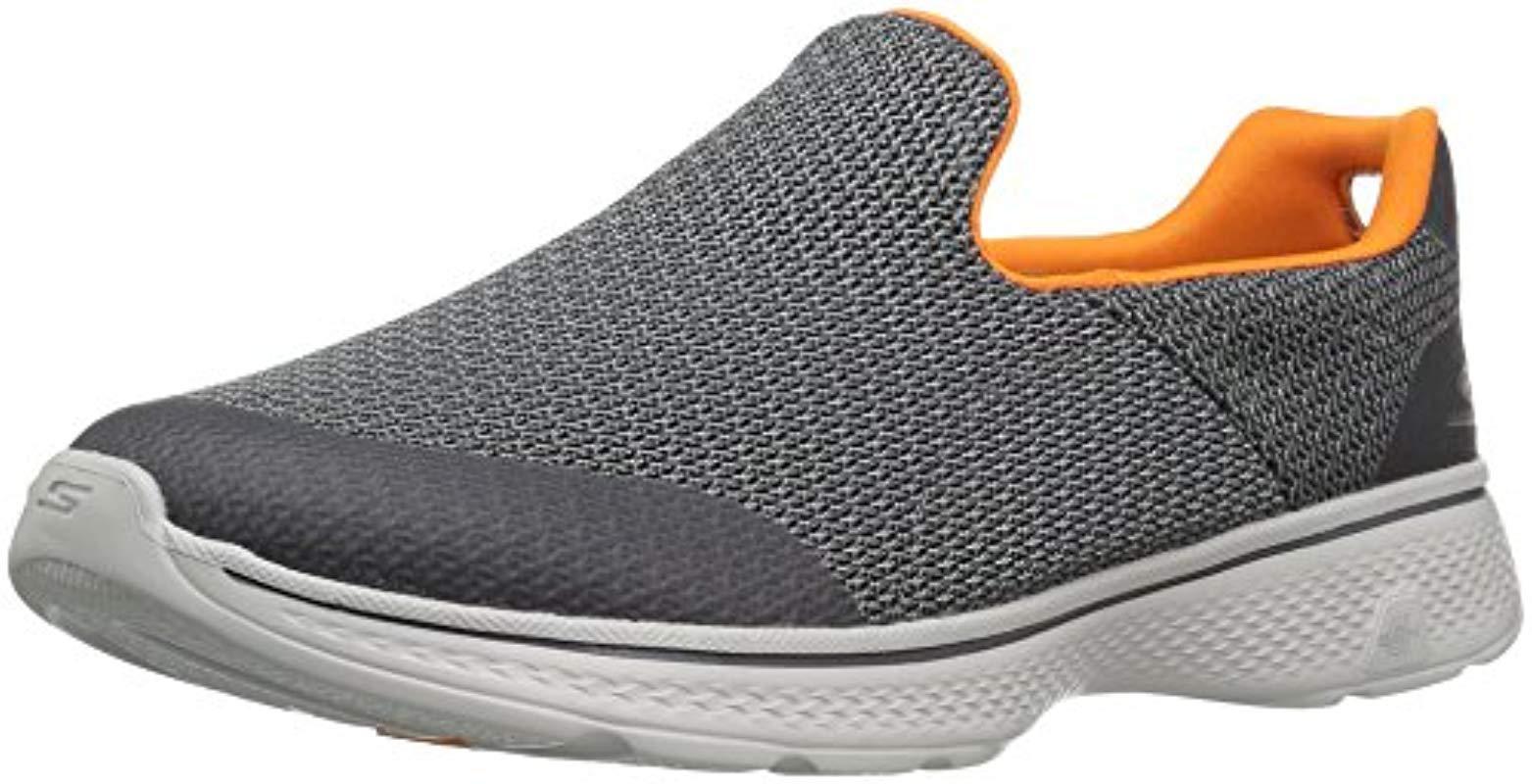 Lyst - Skechers Performance Go Walk 4 Expert Walking Shoe in Gray ... c298fc046ef