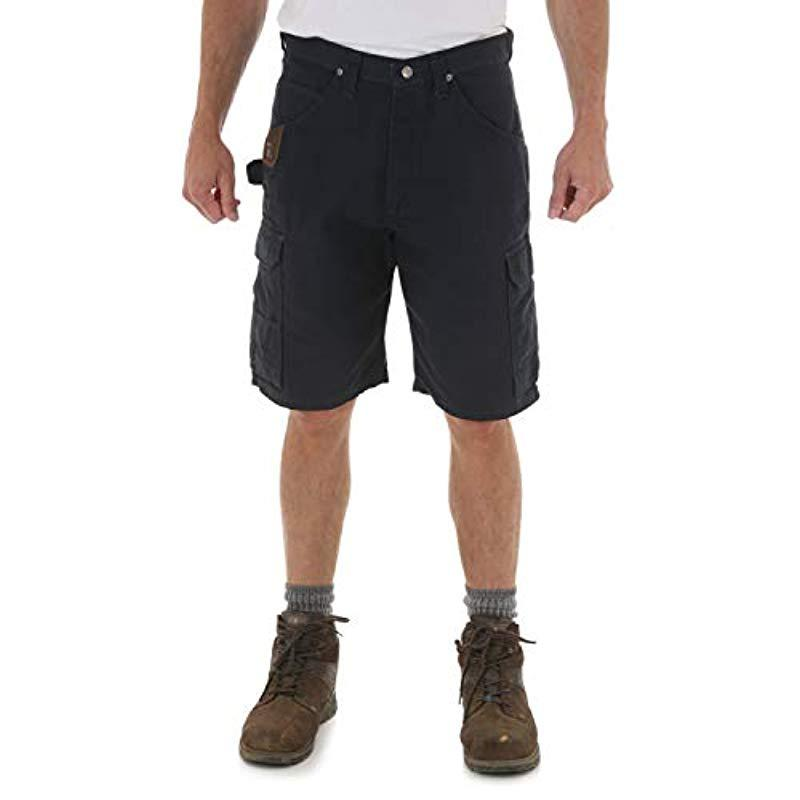 897c17a9f5 Lyst - Wrangler RIGGS Workwear Big & Tall Ripstop Ranger Short in ...