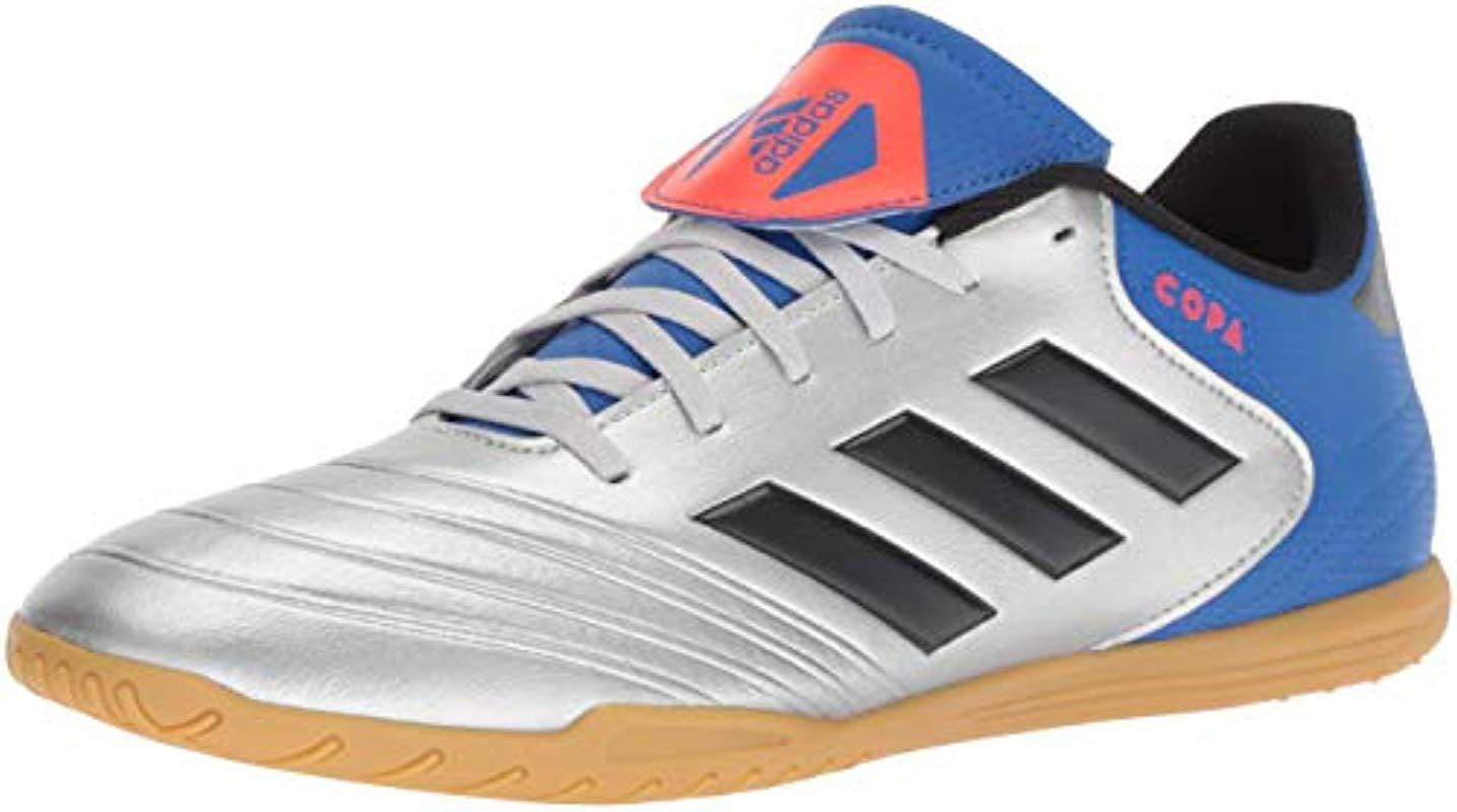 Lyst Adidas Soccer Copa Tango 18.4 Indoor Soccer Adidas Zapatos in Metallic for Hombre 41cf1a