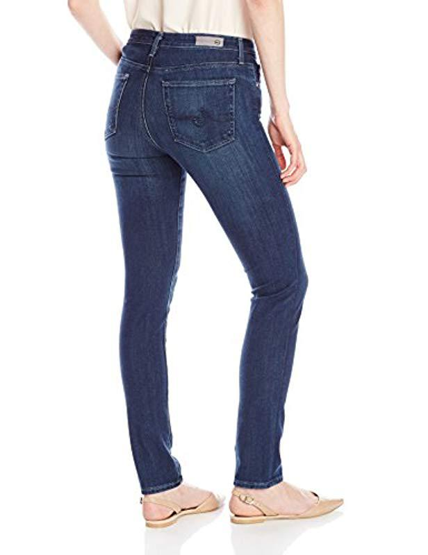 Ag Crater Blue Jean Prima Skinny In The Jeans Lyst dqw0aSd
