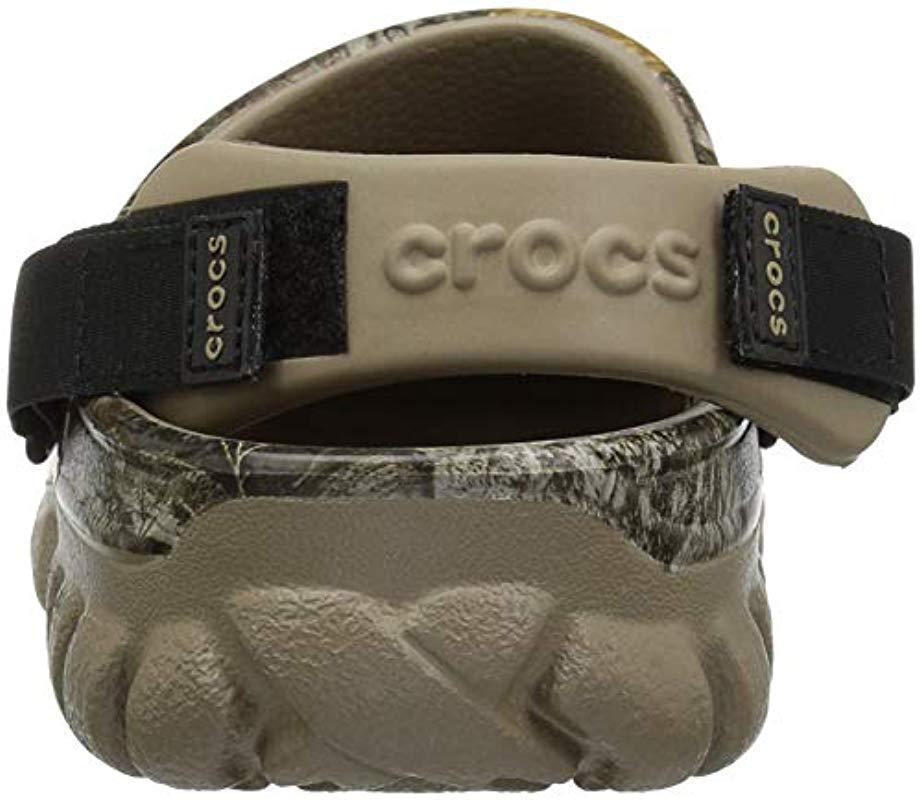 df32ca77aaa9 Crocs™ - Green Offroad Sport Realtree Edg Clg Clog - Lyst. View fullscreen