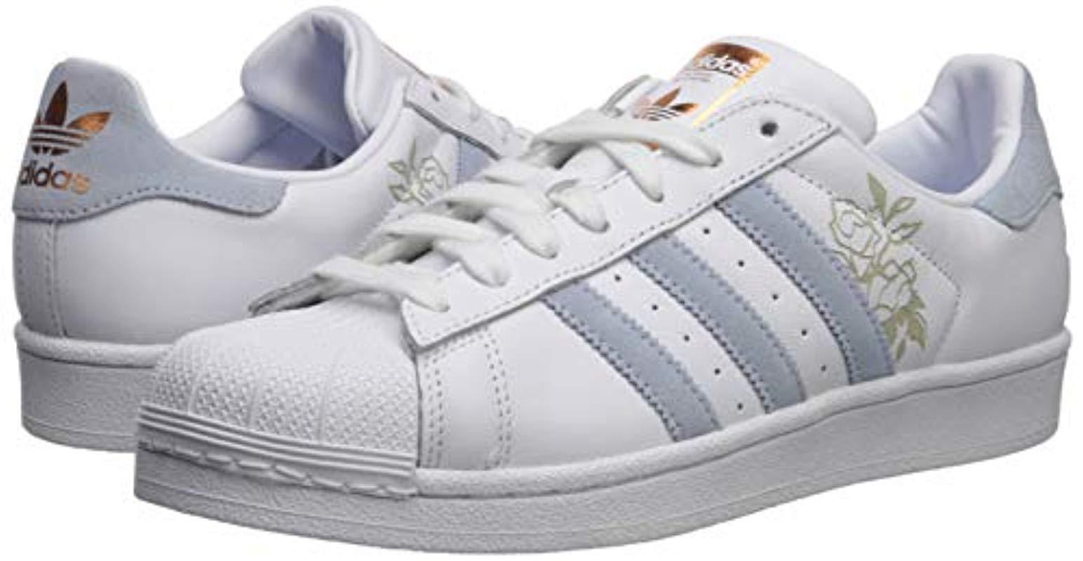 adidas Originals Superstar Shoe, White