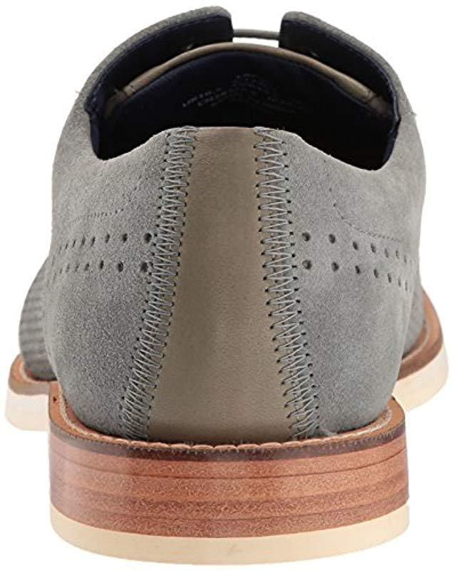 c78c10fe5d8210 Lyst - Ted Baker Lapiin Oxford in Gray for Men - Save 30%