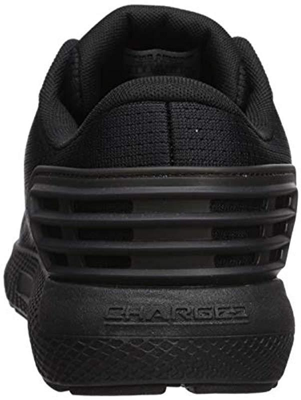 8d2b0eb41e04 Lyst - Under Armour Charged Rogue-wide (4e) Running Shoe in Black for Men -  Save 25%