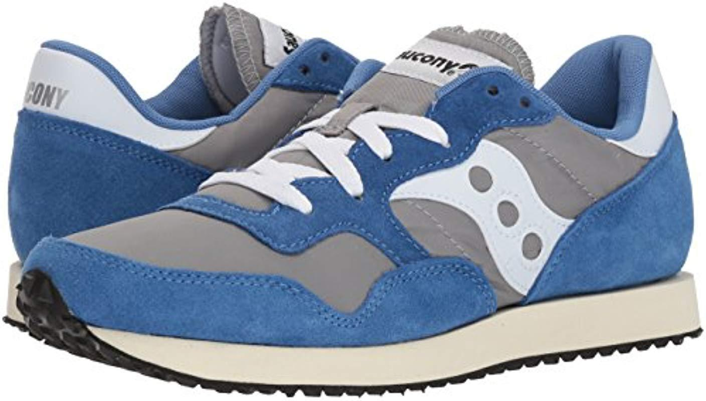 e8ae905090e Saucony Originals Dxn Trainer Vintage Running Shoe in Blue for Men - Save  1% - Lyst