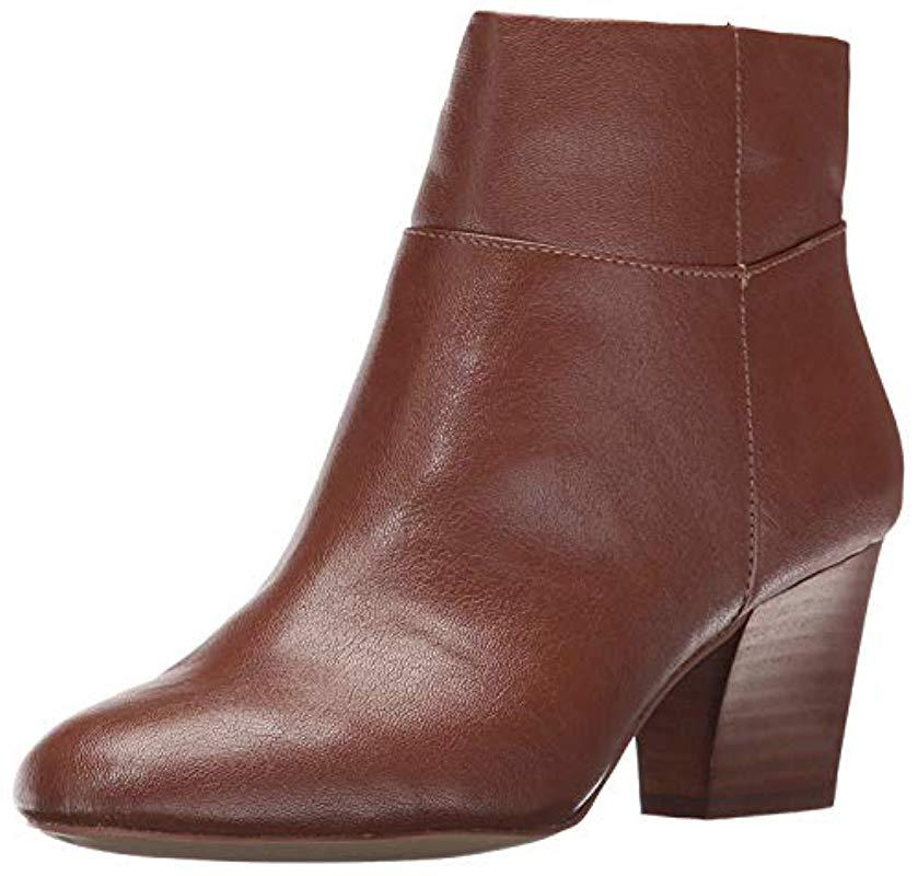 69dc799d4642 Lyst - Nine West Caseylu Ankle Bootie in Brown - Save 43%
