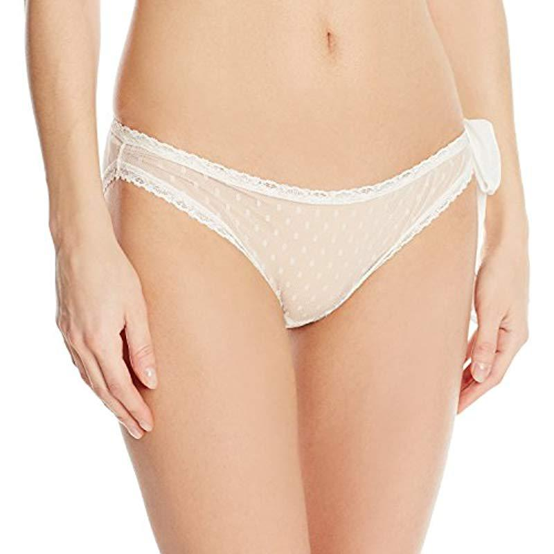 7ea5228af5f Lyst - Only Hearts Coucou Lola Side Tie Bikini in Natural