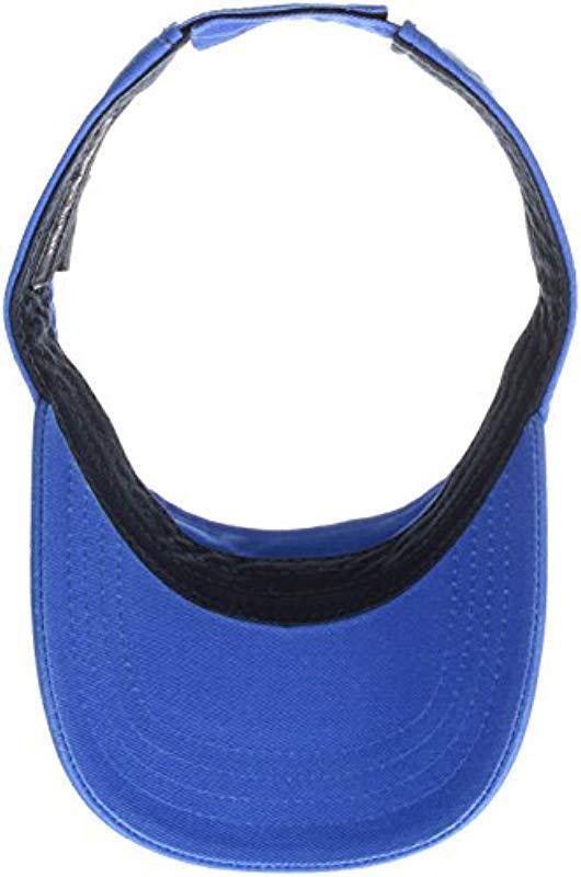 34d972c0d17 Tommy Hilfiger - Blue Dad Hat Flag Solid Cotton Visor for Men - Lyst. View  fullscreen