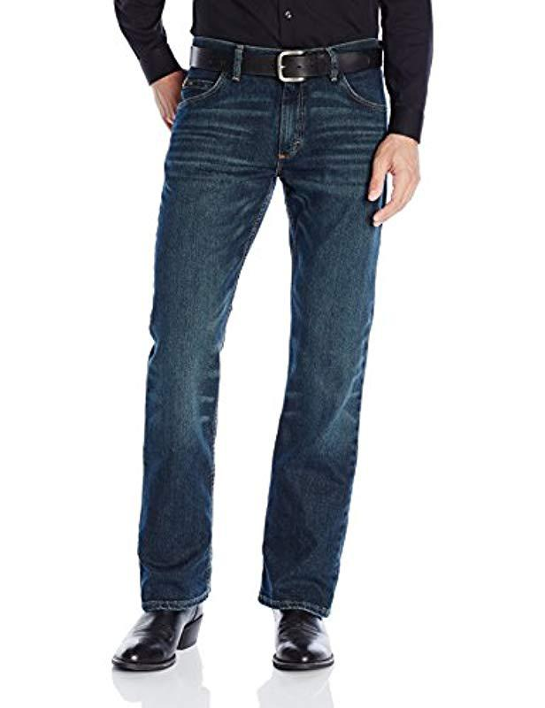 Lyst - Wrangler 20x Competion Slim Fit Root Beer Jean in Blue for Men 0f2728580a23