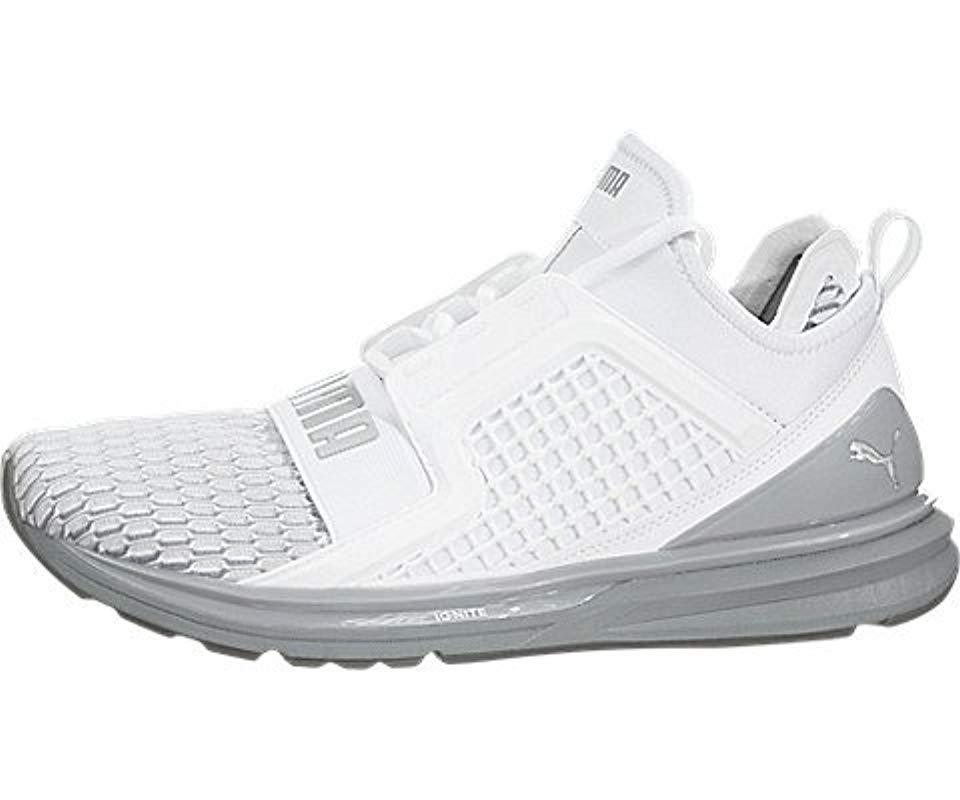 57f576bfe7d PUMA. Men s White Ignite Limitless Cross-trainer Shoe.  70 From Amazon Prime