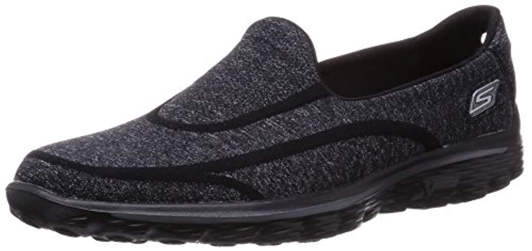 Skechers. Women's Black 's Gowalk 2 Super Sock Low-top Sneakers