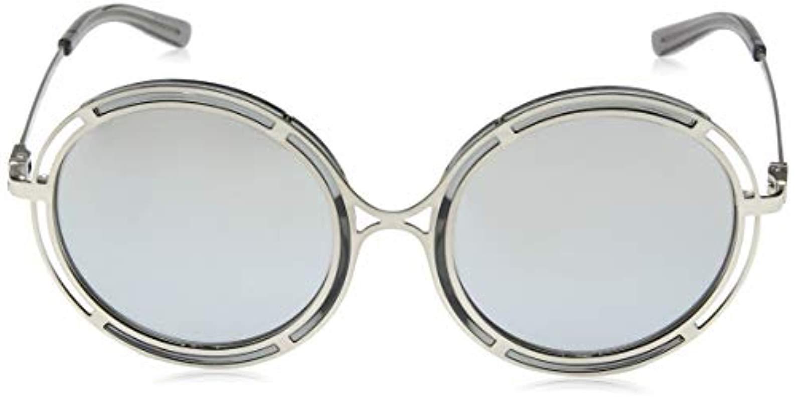 75dc9fecd352 Ralph By Ralph Lauren - Metallic Metal Woman Sunglass Non-polarized Iridium  Round, Sanded. View fullscreen