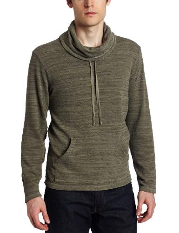 Goodthreads Soft Cotton Henley Sweater Uomo