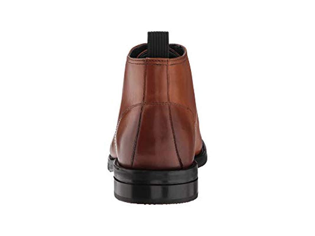 6d8b7a710a Cole Haan - Brown Wagner Grand Apron Chukka Waterproof Boot for Men - Lyst.  View fullscreen