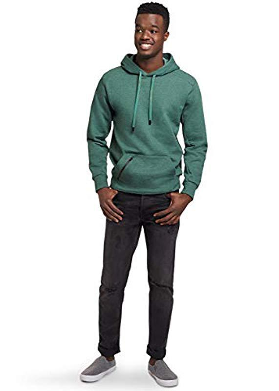 WeiGin Fragments Blue Hooded Sweatshirt The Mens Hoodie Long Sleeves and Has A Hat.