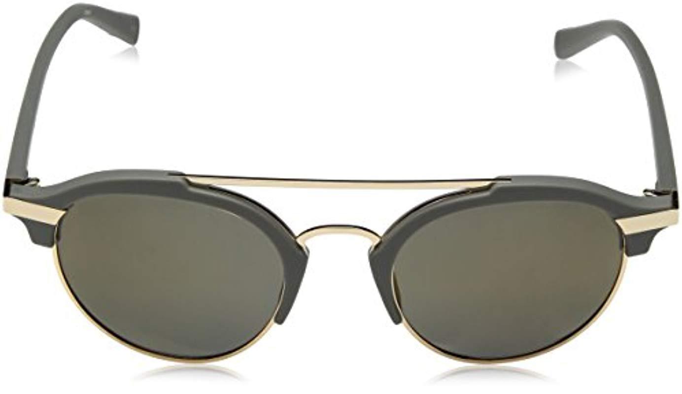 3c832080ab Nautica - Gray N4629sp Polarized Round Sunglasses Matte Grey 50 Mm for Men  - Lyst. View fullscreen