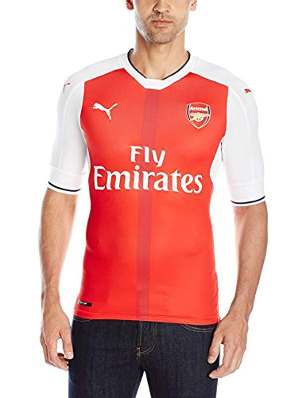 b9f681845af Lyst - PUMA Afc Authentic Home Shirt (with Packaging) With Epl ...
