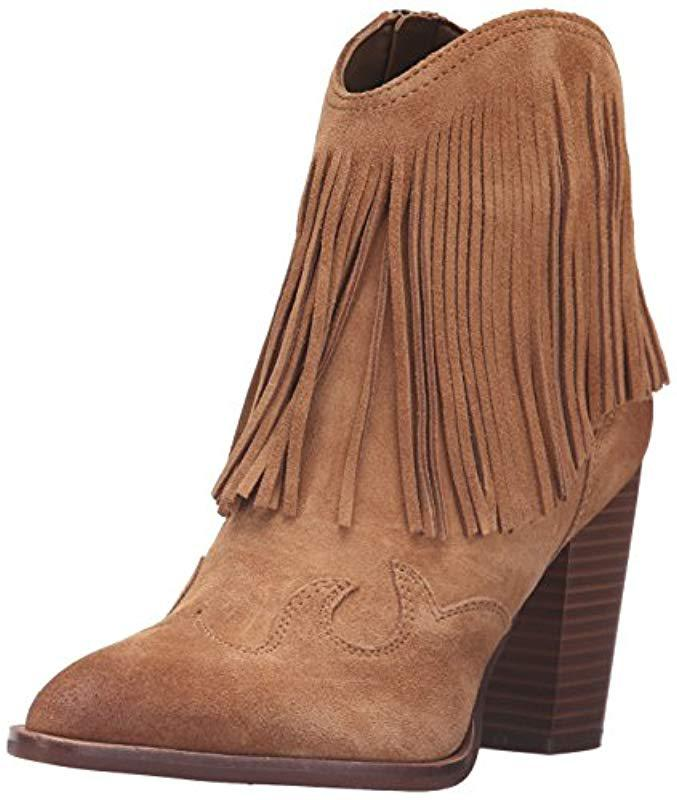 15e38e9f84ac7 Lyst - Sam Edelman Benjie Ankle Bootie in Brown - Save 50%