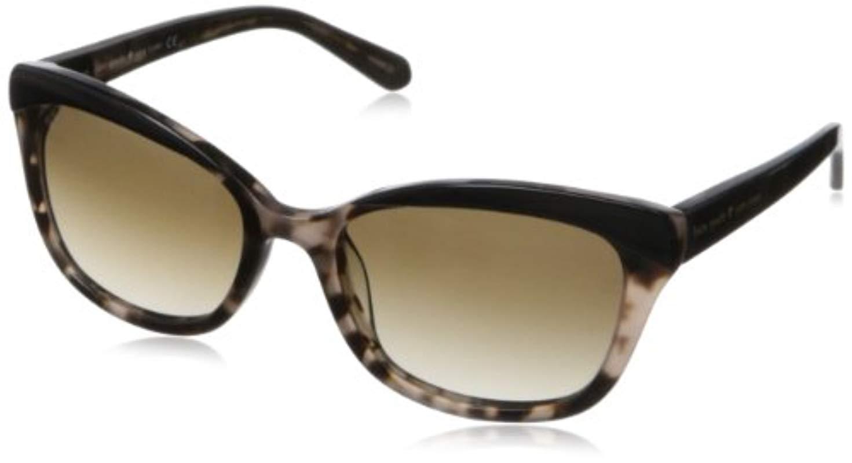 4ca9044893 Lyst - Kate Spade Amara Cat-eye Sunglasses in Black - Save ...